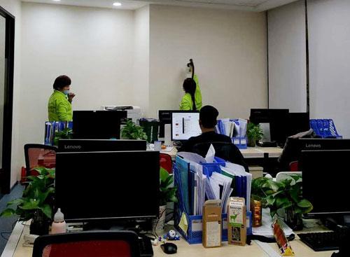 写字楼、办公区空气检测净化